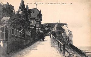 France Le Treport L'Escalier de la Falaise Promenade