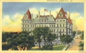 Albany, New York, NY State Capital USA Unused