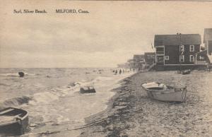 MILFORD , Connecticut, 1900-10s; Surf, Silver Beach