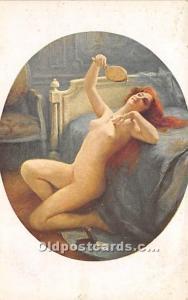 Nude Postcard The Pendant Unused