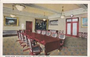 Utah Salt Lake City Board Room Utah State Capitol Curteich