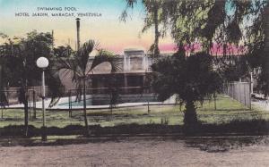 MARACAY, Venezuela, 1900-1910s; Swimming Pool, Hotel Jardin
