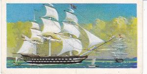 Trade Cards Brooke Bond Tea Transport Through The Ages No 12 East Indiaman