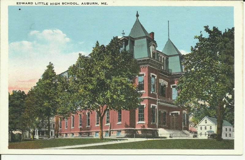 Auburn, Maine, Edward Little High School