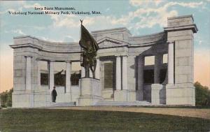 Mississippi Iowa State Monument Vicksburg National Military Park Curteich