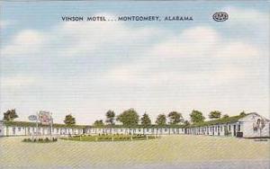 Alabama Montgomery Vinson Motel