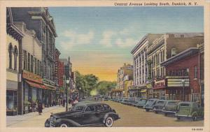 Central Avenue looking South , DUNKIRK , New York , 30-40s