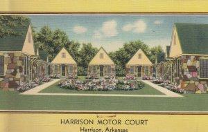 HARRISON , Arkansas, 1930-40s ; Motor Court