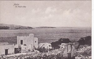 MALTA, 1900-1910´s; St. Paul's Bay