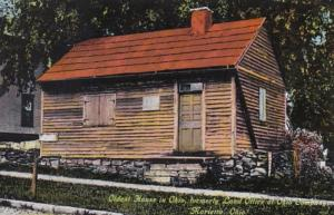 Ohio Marietta Oldest House In Ohio Formerly Land Office At Ohio Company Curteich