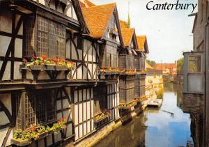 England Canterbury The Weavers and River Stour, Canterbury