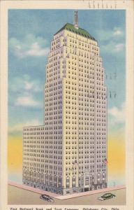 First Natiuonal Bank and Trust Company Oklahoma City Oklahoma 1943