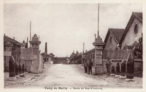 Military - Camp de Mailly Entree du Parc d'Artillerie 01.46