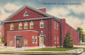 Massachusetts Ayer Fort Devens Post Theatre No 1