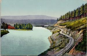 Lake Baikal Siberia Russia area Postcard E45