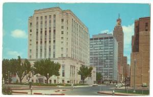 Oklahoma County Court House, Oklahoma City, 1960s Postcard