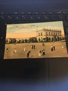 Vintage Postcard; Kern and Tulare Counties Building Panama  CA Exposition 1915