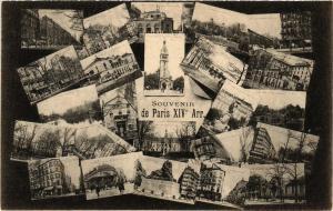 CPA Souvenir de PARIS 14e (535946)