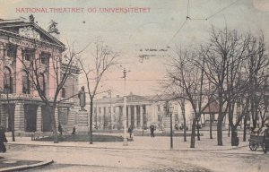 KRISTIANIA , Norway , 00-10s ; National Theatret Og Universitetet