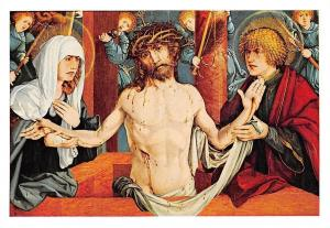 Martin Schaffner Erbarmdebild Ulmer Museum Jesus Christ