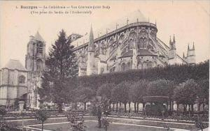France Bourges La Cathedrale Vue Generalo Sud