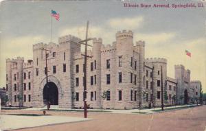 SPRINGFIELD, Illinois, 1900-1910's; Illinois State Arsenal