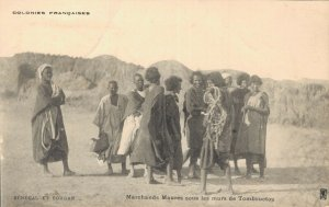 Africa Colonies Francaises Senegal et Soudan Marchands Maurus 04.91