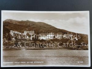 c1938 RP Barmouth: Panorama Hills from Island