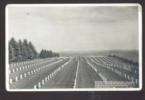 RPPC CUSTER NATIONAL BATTLEFIELD MEMORIAL OLD WYOMING REAL PHOTO POSTCARD
