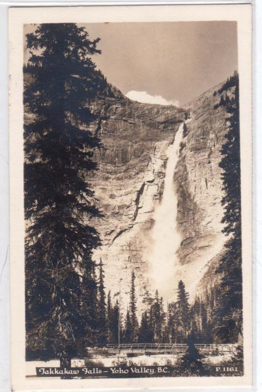 RPPC, Takkakaw Falls, Yoho Valley BC
