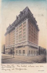 BALTIMORE, Maryland; 1908 ; Hotel Belvedere