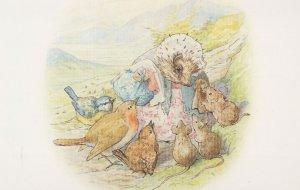 The Tale Of Mrs Tiggy Winkle Beatrix Potter 1905 Book Postcard