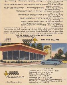 Gold House Restaurants Bi Fold Comment Card