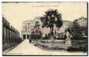 Toulouse - Garden Museum - Old Postcard