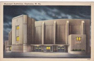West Virginia Charleston Municipal Auditorium 1940