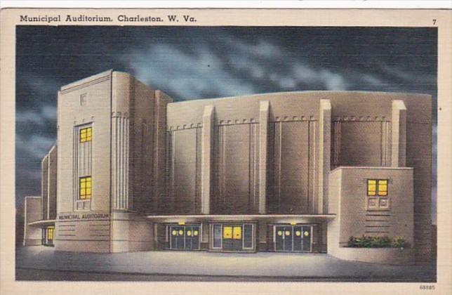 West Virginia Charleston Municipal Auditorium 1940