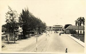 indonesia, JAVA SOERABAIA, Passer Besar (1920s) RPPC Postcard