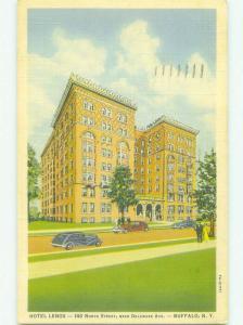Linen LENNOX HOTEL Buffalo New York NY HQ3451