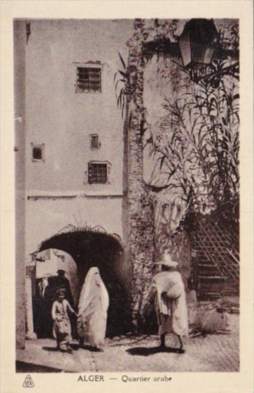 Algeria Alger Quartier Arabe