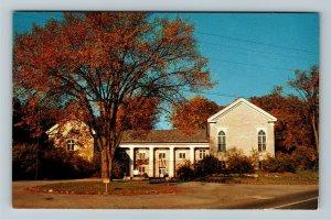 Bennington Village VT-Vermont, Historical Museum And Art Gallery Chrome Postcard
