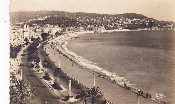 France Nice La Promenade des Anglais 1950 Real Photo