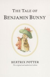 The Tale Of Benjamin Bunny Beatrix Potter Book Postcard