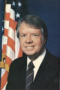 Jimmy Carter 39th President United States Postcard