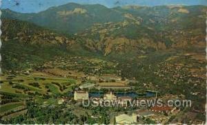 Broadmoor Hotel air view