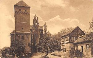 Germany Nuernberg, Heidenturm, Burg Nuremberg Castle