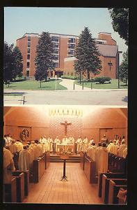 Providence, Rhode Island/RI Postcard, St Thomas Priory,