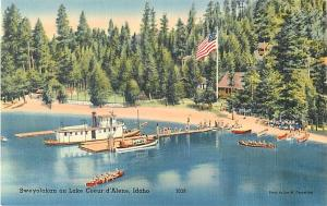 Linen of Sweyolakan on Lake Coeur d'Alene Idaho ID