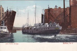 BUFFALO, New York; Jack Knife Bridge, Kellogg Building, PU-1906