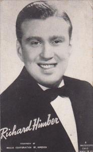 Vintage Mutoscope Card Richard Himber