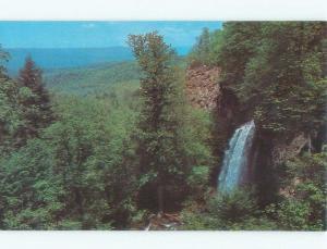 Pre-1980 FALLING SPRINGS WATERFALL Between Covington & Hot Springs VA E4119@